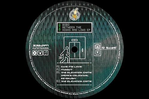 BETWEEN THE HIGH'S & LOW'S EP - BOBO | GUNFINGER FOOD [GUNFNGR001]