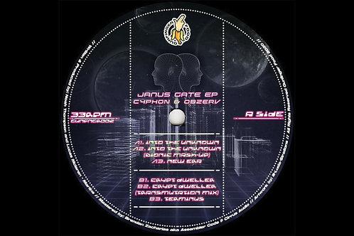 JANUS GATE EP - CYPHON & OBZERV | GUNFINGER FOOD [GUNFNGR002]