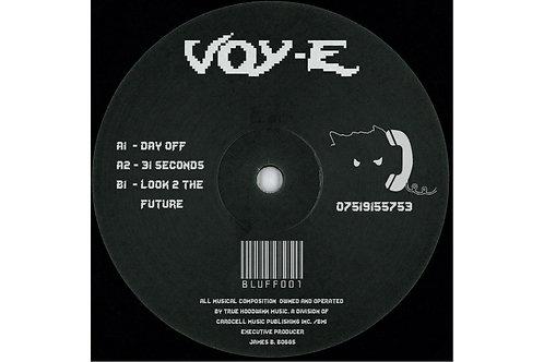 BLUFF RECORDS - VOY-E [BLUFF001] REPRESS