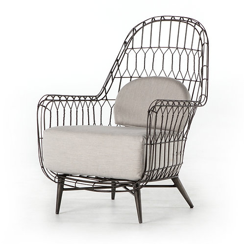 Manning Outdoor Wire Wing Chair