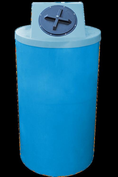Cadet Blue Big Bin with Powder Lid