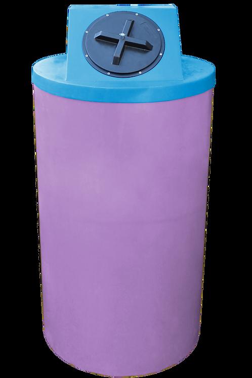 Purple Big Bin with Cadet Blue Lid
