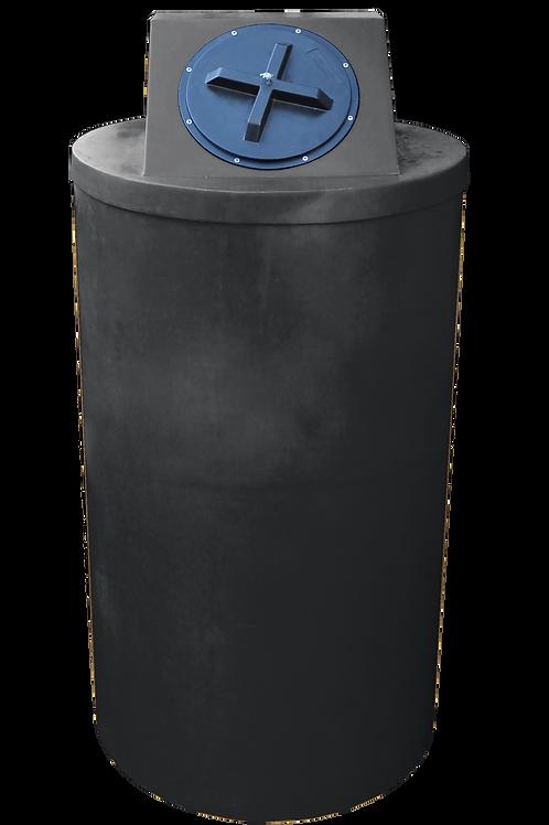 Black Big Bin with Black lid
