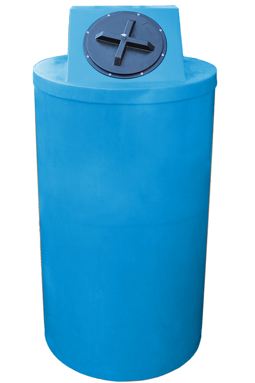 Cadet Blue Big Bin with Cadet Blue Lid