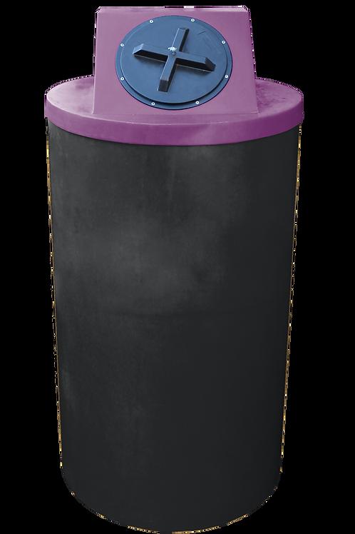 Black Big Bin with Wine lid