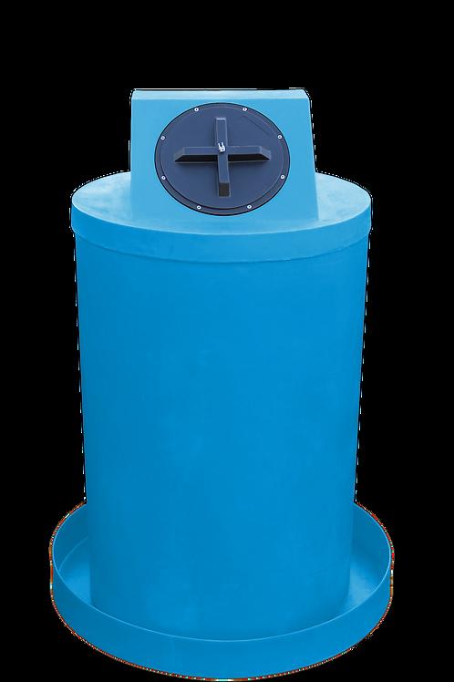 Cadet Blue Drum Crown with Cadet Blue spill pan