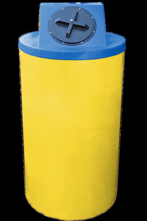 Yellow Big Bin with Royal Lid