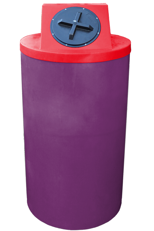 Wine Big Bin with Red Lid