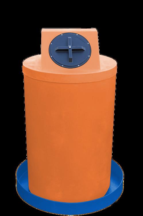 Orange Drum Crown with Royal spill pan