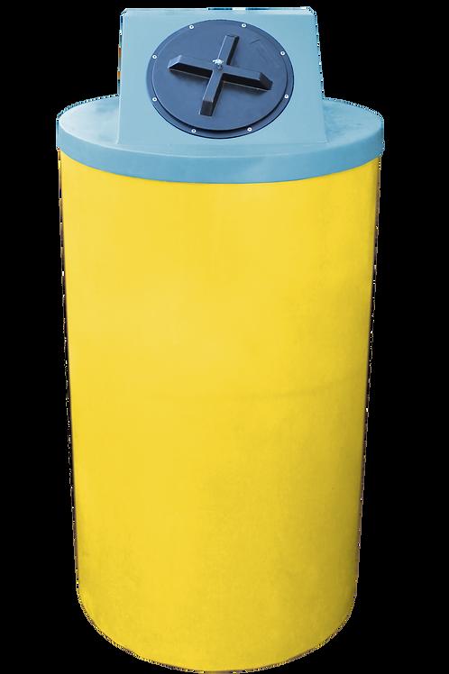 Yellow Big Bin with Powder Lid