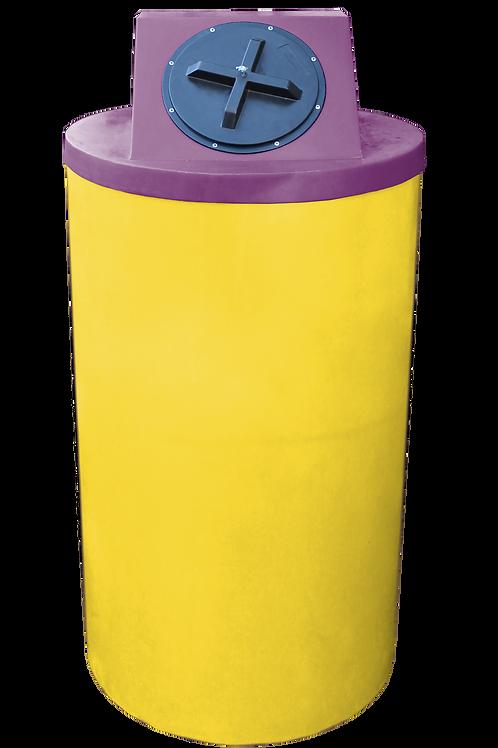 Yellow Big Bin with Wine Lid