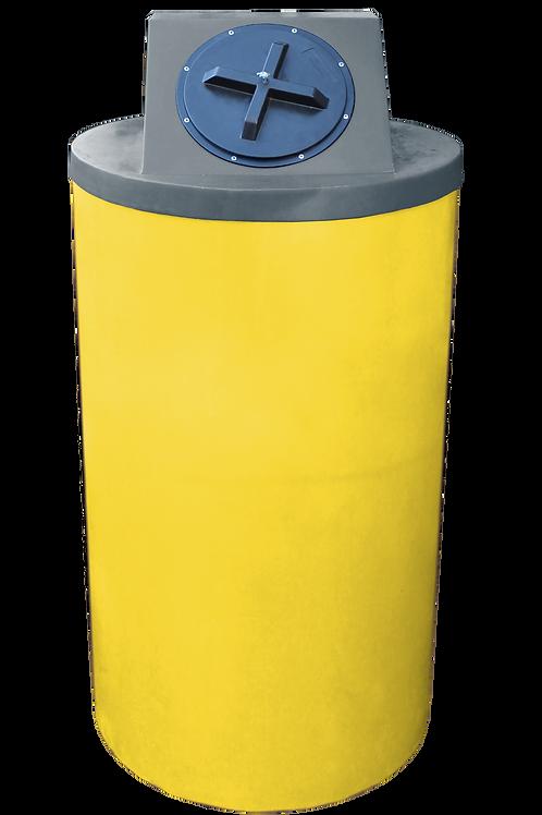 Yellow Big Bin with Dark Gray Lid