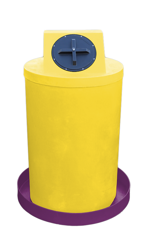 Yellow Drum Crown with Wine spill pan