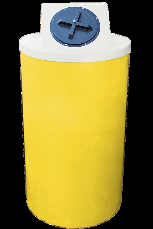 Yellow Big Bin with Natural Lid