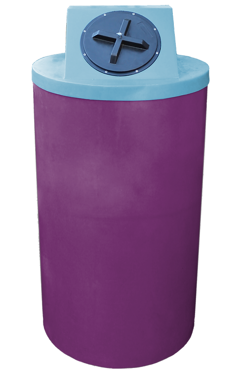 Wine Big Bin with Powder Lid