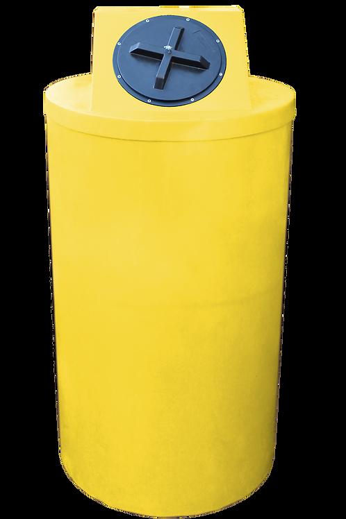 Yellow Big Bin with Yellow Lid