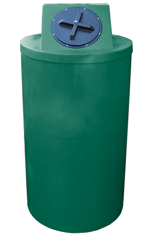 Hunter Green Big Bin with Hunter Green Lid