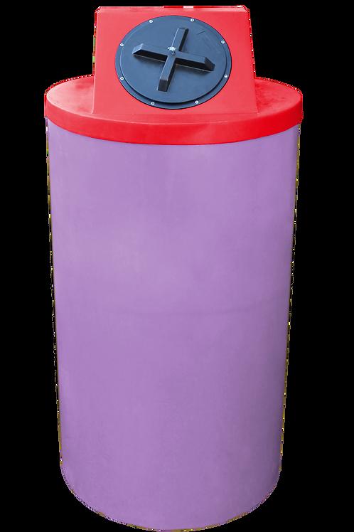 Purple Big Bin with Red Lid