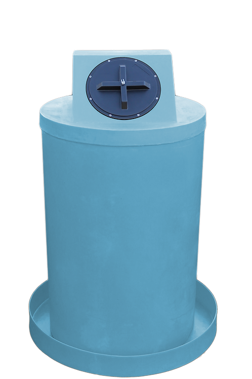 Powder Drum Crown with Powder spill pan