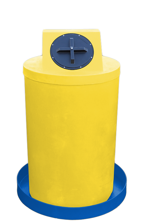 Yellow Drum Crown with Royal spill pan