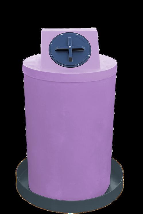 Purple Drum Crown with Dark Gray spill pan