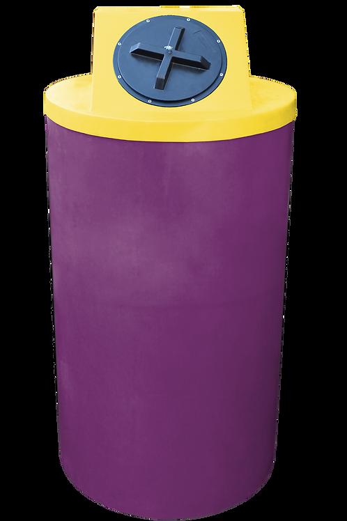 Wine Big Bin with Yellow Lid