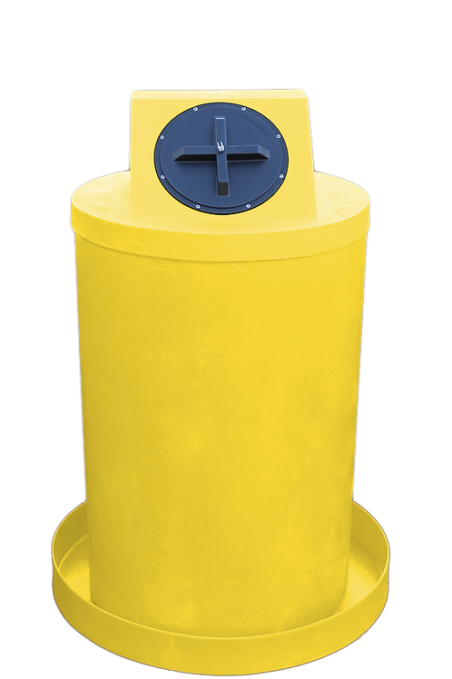Yellow Drum Crown with Yellow spill pan