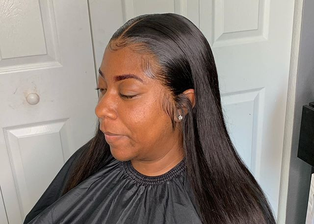 Lace Wig Application With Baby Hairs🔥__