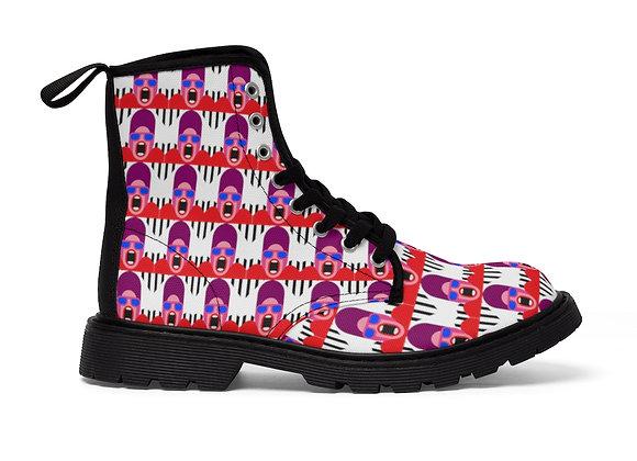 Yas Queen Women's Canvas Boots