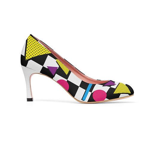 80's Fashion High Heels