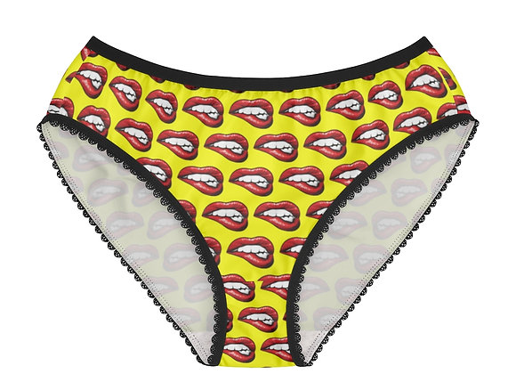 Beat Bombshell Marvel Lips Women's Briefs