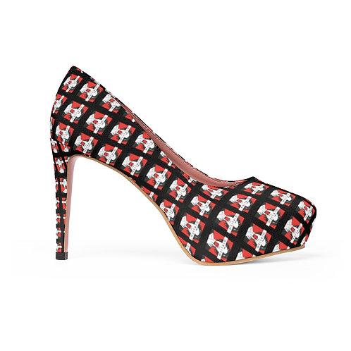 Girlism Black Platform Heels