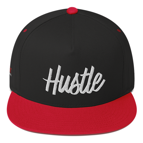 Hustle Flat Bill Cap