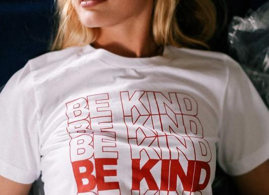 """Be Kind""  Tee"