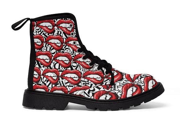 Beat Bombshell Women's Canvas Boots