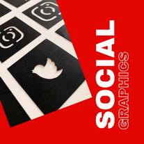 Free Social Graphics Design Stencils