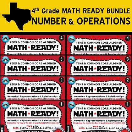 4th Grade Math Ready® Numerical Bundle