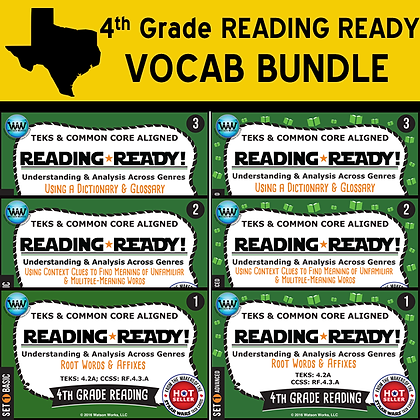 4th Grade - Reading Ready® Vocab Bundle