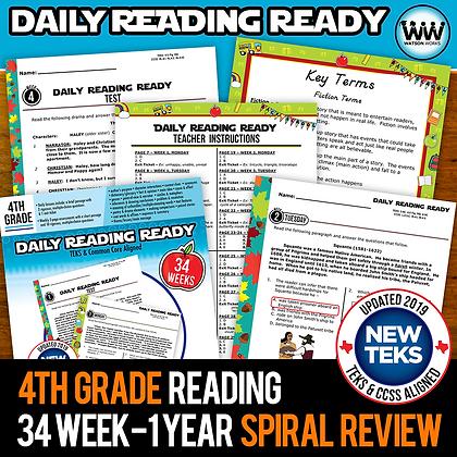 4th Grade - Daily Reading Ready® Full Year