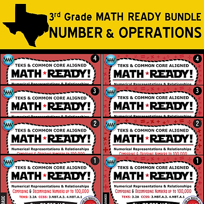 3rd Grade - Numerical Representations Bundle