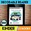 Thumbnail: BUNDLE Kindergarten Phonics Decodable Readers 23 Color/Blackline PDFs & eBooks