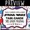 Thumbnail: QR Version Set 1- 3rd Grade STAAR Wars Reading