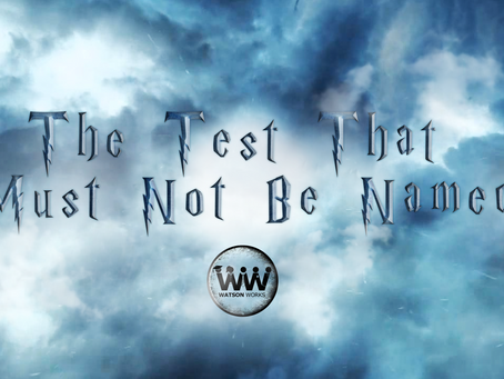 The Test That Must Not Be Named