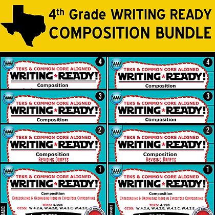 4th Grade - Writing Ready Compositon Bundle