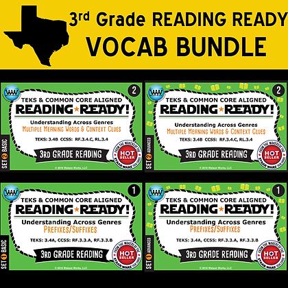 3rd Grade - Reading Ready©Vocab Bundle