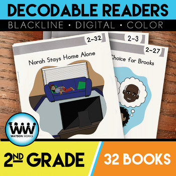 2nd Grade Decodable Readers - 32