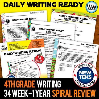 4th Grade - Daily Writing Ready® Full Year