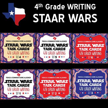 4th Grade - STAAR Wars Writing Bundle