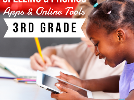3rd Grade Spelling & Phonics Apps/Online Tools