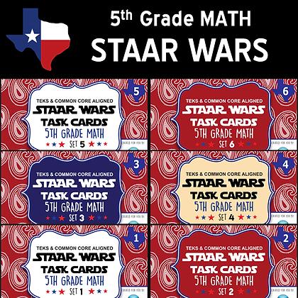5th Grade - STAAR Wars Math